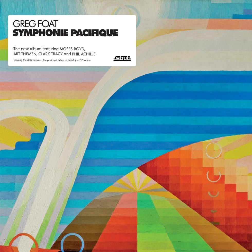 Greg Foat - Symphonie Pacifique (album cover with sticker)
