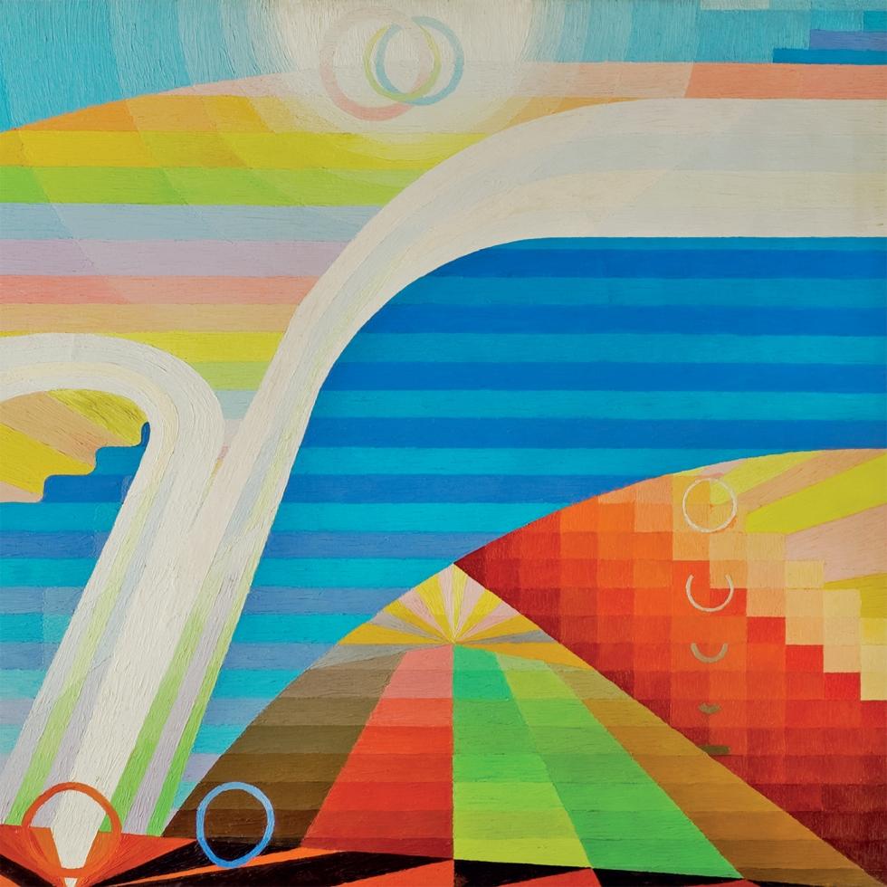 Greg Foat - Symphonie Pacifique (album cover without sticker)